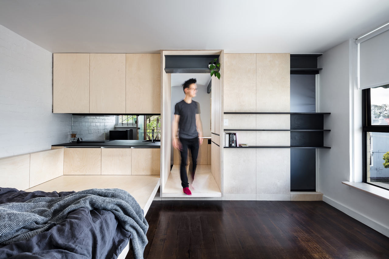 Micro Living Apartment A 1950s Micro Apartment Is Renovated For Modern Times