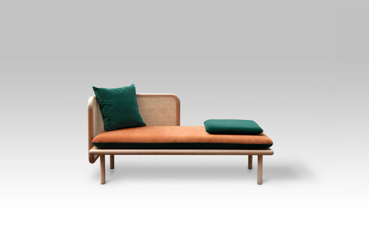 Made Sofa Velvet Hum A Contemporary Sofa Made From Mixed Materials By Muar