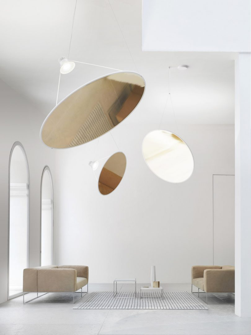 Milk Decoration Axel Vervoordt Amisol A Large Pendant Lamp That Actually Takes Up A