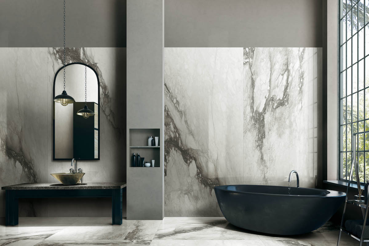 Bagno Tiles Design Innovation From Florim The Look Of Marble With The