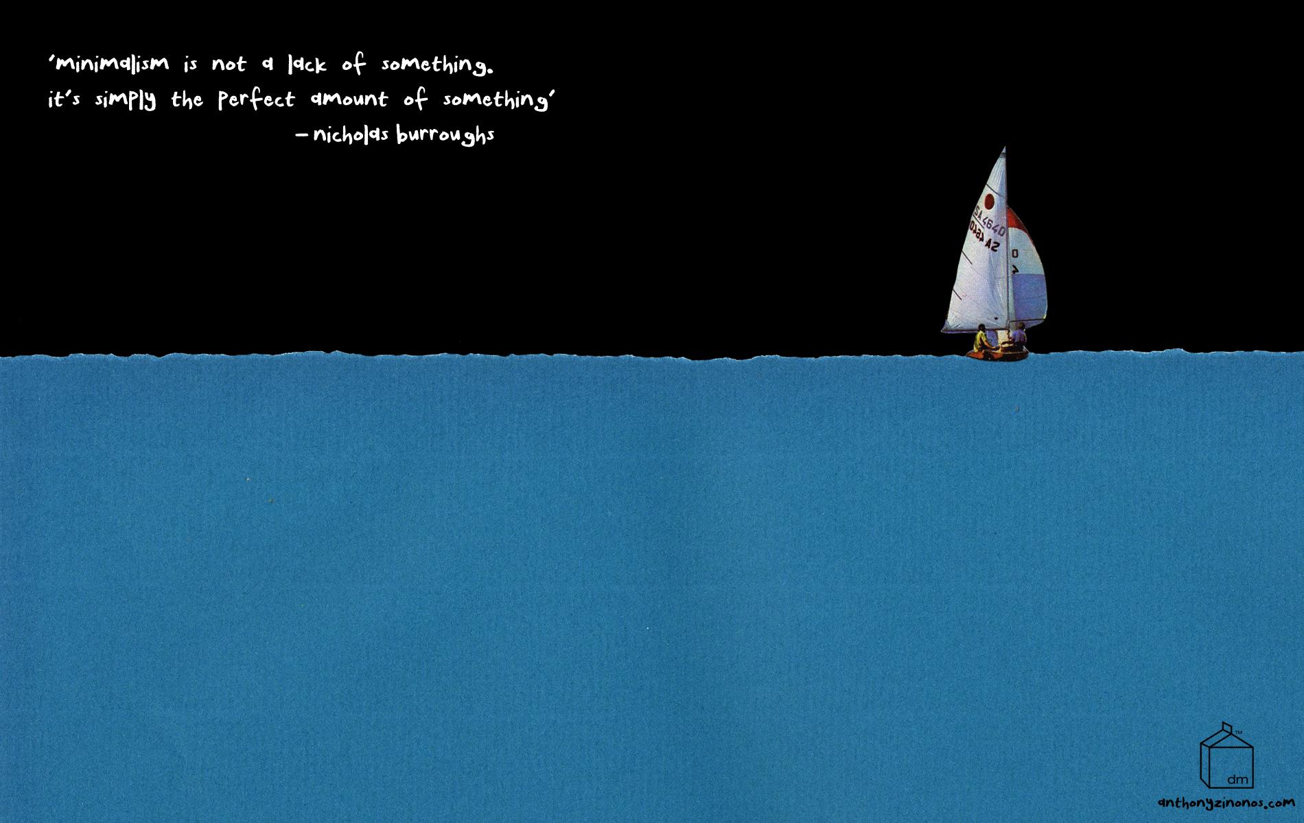 Minimalist Quote Wallpaper Desktop Wallpaper January 2012 Design Milk