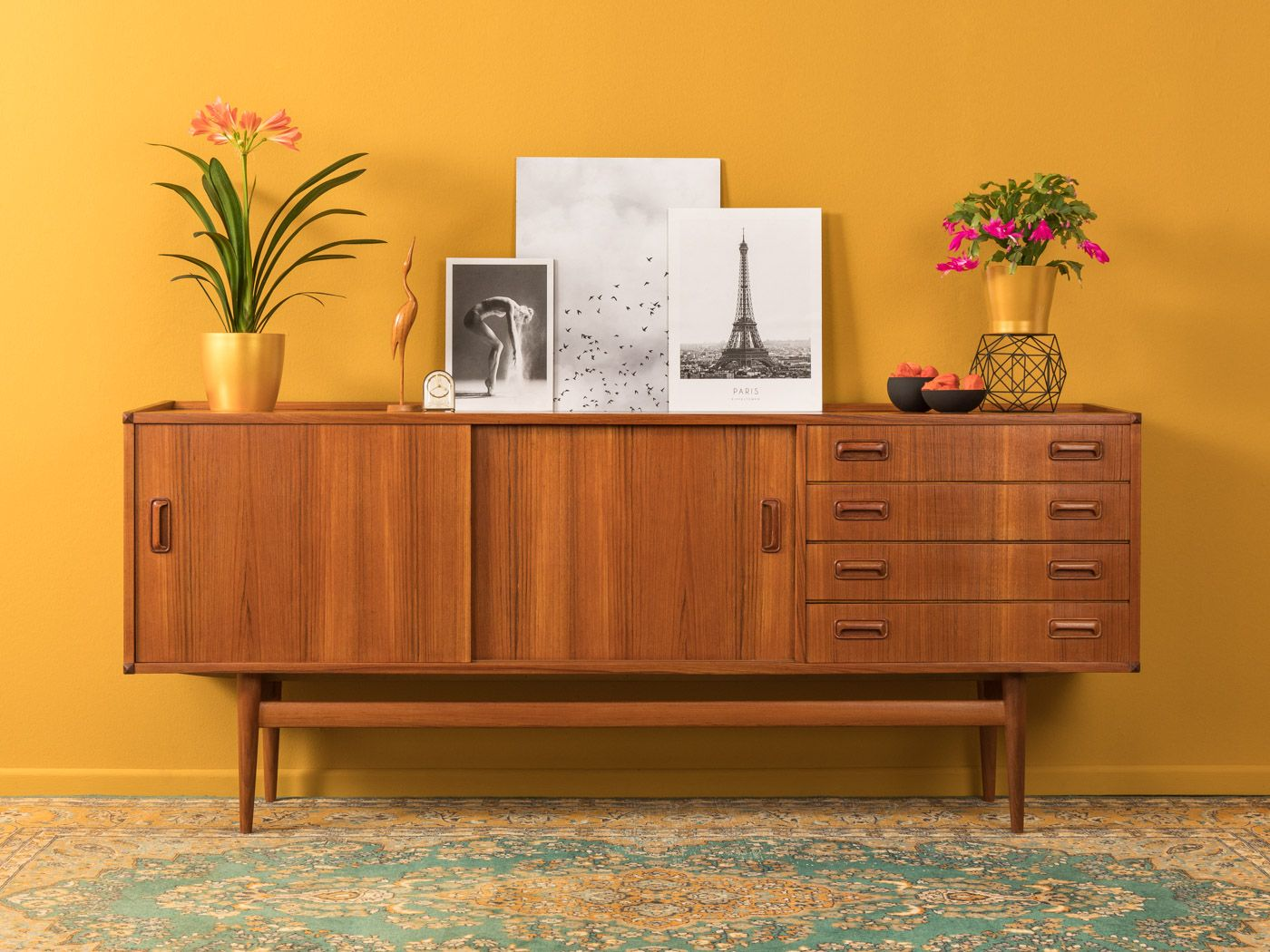 Vintage Sideboard By Musterring 1950s Design Market