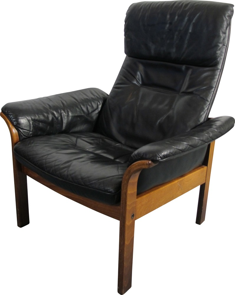 Scandinavian Möbel Scandinavian G Mobel Lounge Chair In Leather 1950s Design Market