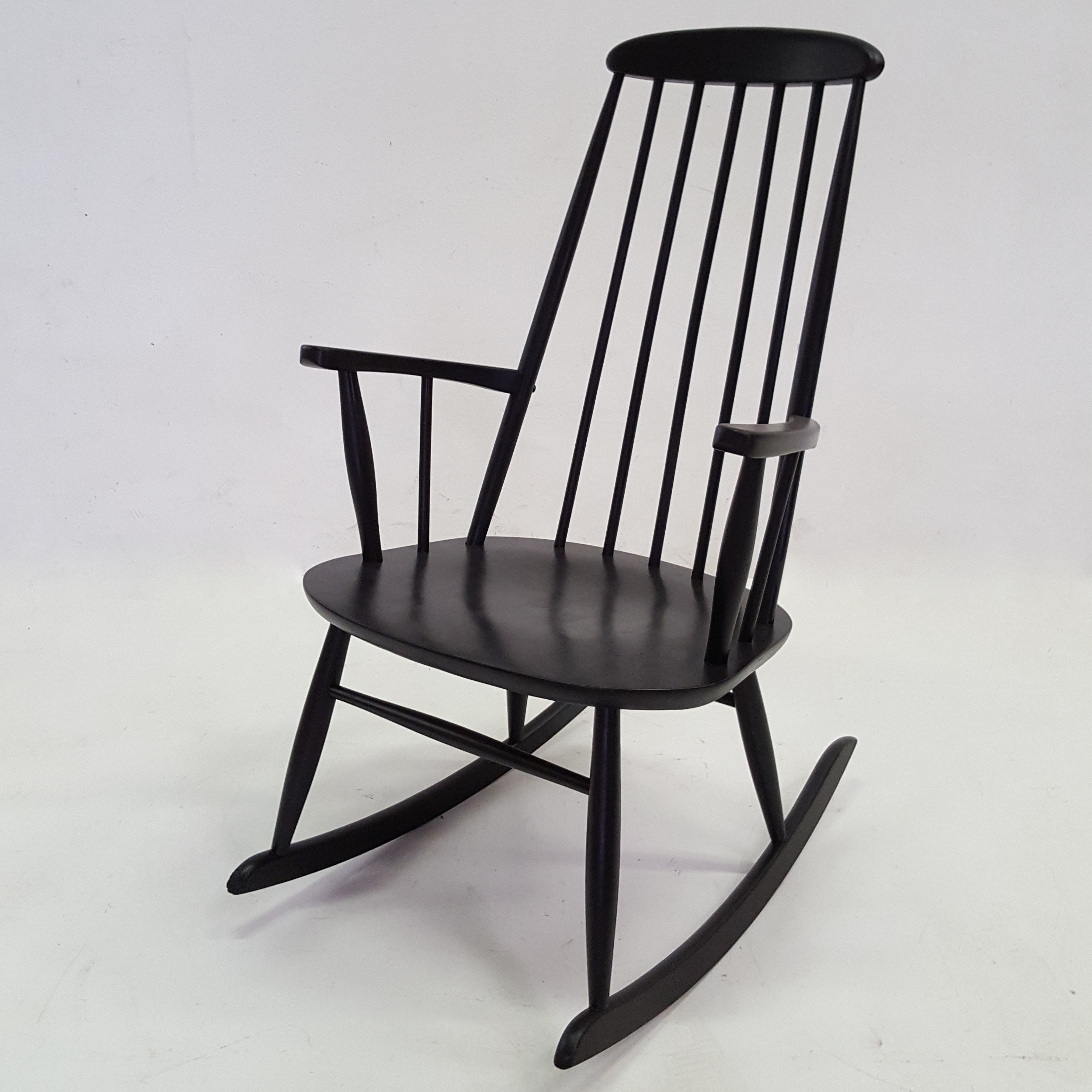 Swedish Rocking Chair Scandinavian Rocking Chair In Beechwood By Rolan Rainer