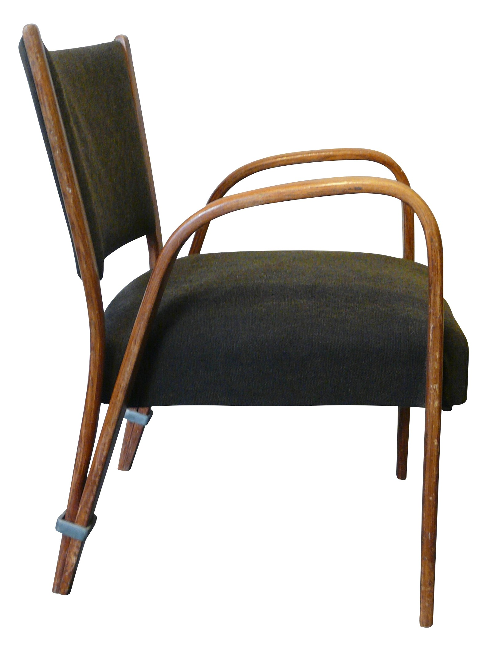 Fauteuils Steiner Vintage Bow Wood Armchair In Ashwood Hugues Steiner 1950s Design Market