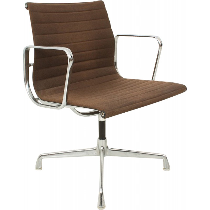 Fauteuil Metal Design Vitra Desk Chair In Metal, Charles & Ray Eames - 1960s