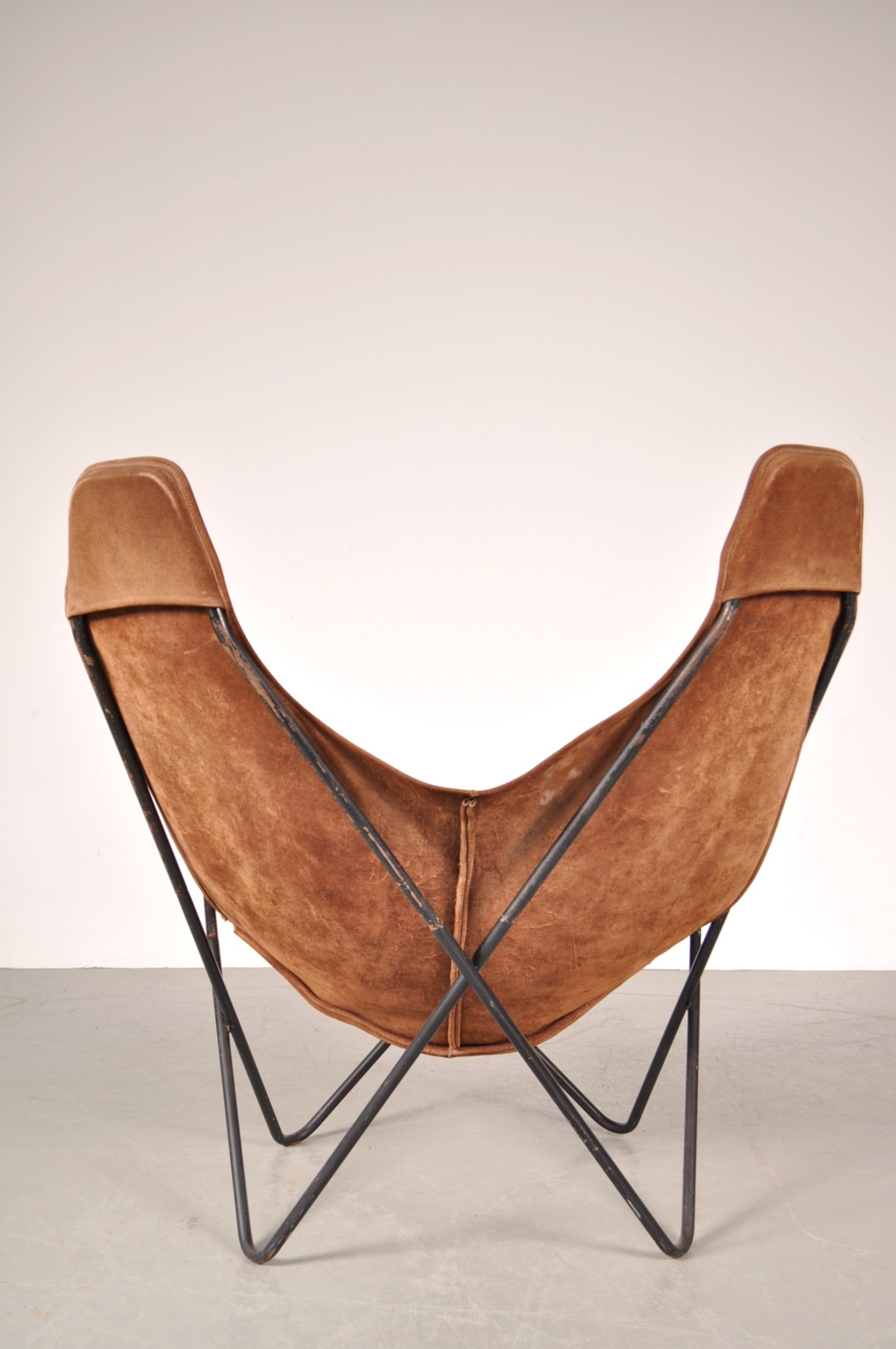 Butterfly Chair Knoll Knoll Butterfly Chair In Metal And Leather Jorge F Hardoy