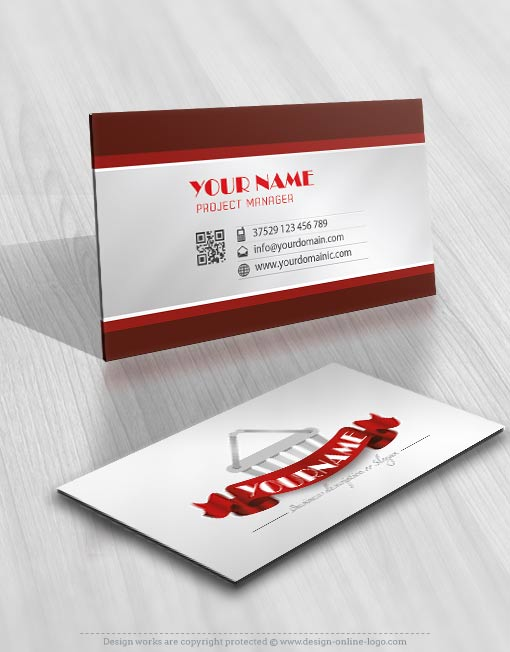 Exclusive Design Shopping Gift Logo + FREE Business Card - Online