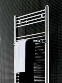 STYLISH TOWEL RADIATORS: Small Chrome Towel Warmer | SENIA