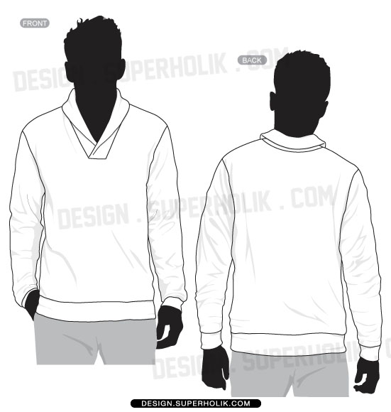 Fashion design templates, Vector illustrations and Clip-artsShawl