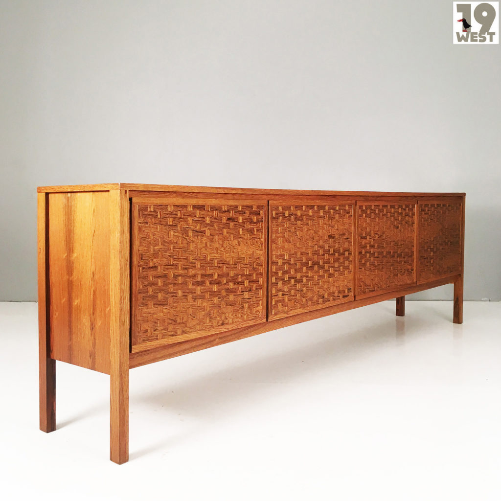 Sideboard 250 Cm Rare Rosewood Sideboard From The 1960 S By Poul Cadovius For Cado