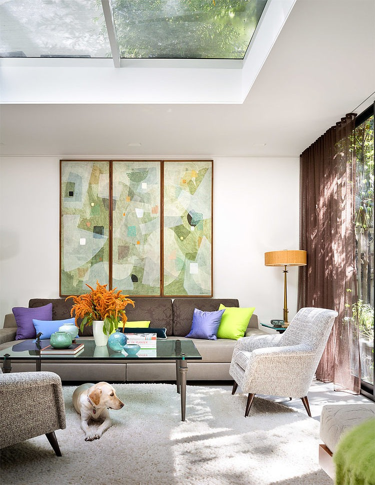 Gartenlounge Klein Upper East Side Townhouse Fun On A Grand Scale | Design
