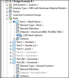 Autodesk Simulation Multiphysics 2012 Element Types