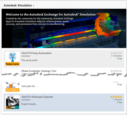 Autodesk Exchange App Store Simulation