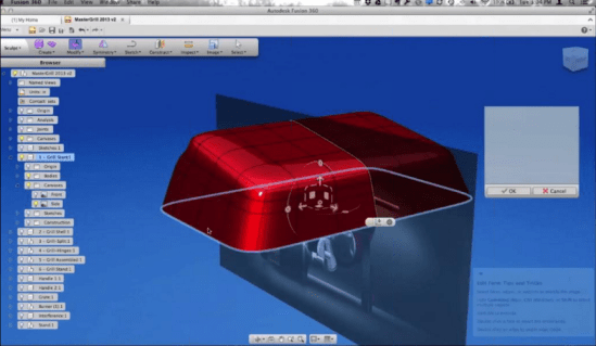 Fusion 360 Surfacing