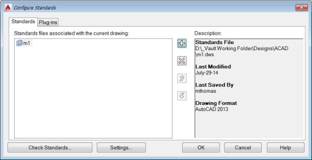 AutoCAD Configuring CAD Standards