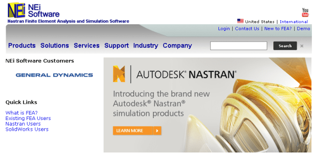 Autodesk Purchases NEi Nastran