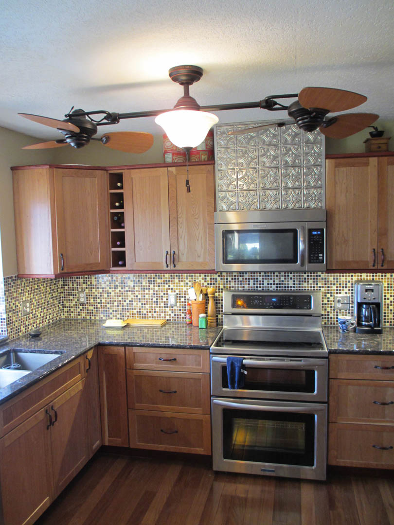 kitchen remodel tile backsplash faux textured tin surface benefits tin backsplash elliott spour house