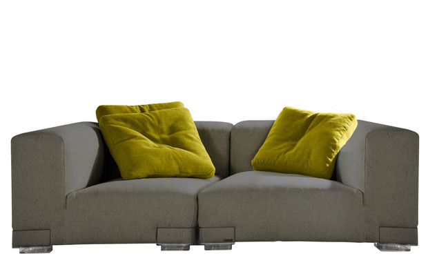 Kartell Bubble Club Sessel Kartell - Plastics Duo Sofa (design: Piero Lissoni)