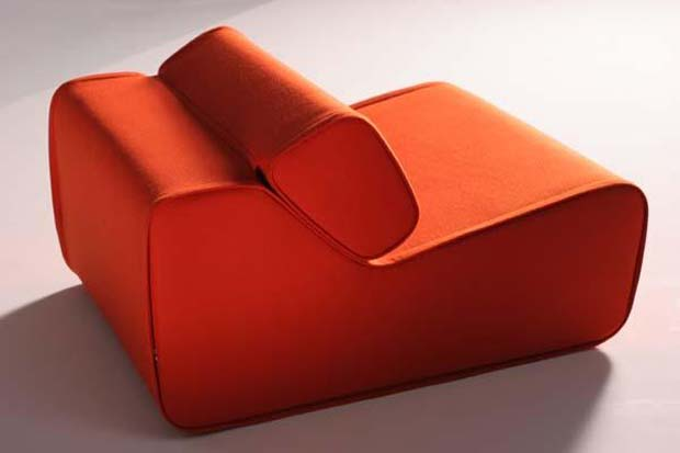 Stuhl Stoffbezug Moroso - Transform Sessel (design: For Use Design Studio)
