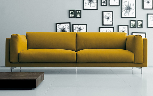 Sessel Füße Living Divani - Family Life Sofa (design: Piero Lissoni)