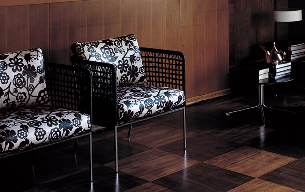 Sessel Lounge Living Divani - Cafe Sessel (design: Piero Lissoni)