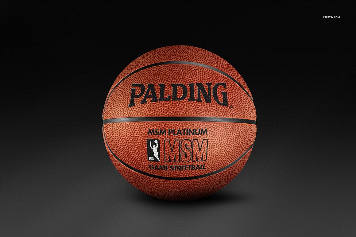 Basketball Ball Basketball Ball Mockup Set Designazure