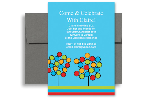 kids birthday invitation sample - Baskanidai - birthday invitations sample