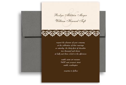 Beautiful Cheap Kit For Microsoft Word Wedding Invitation 5x7 in