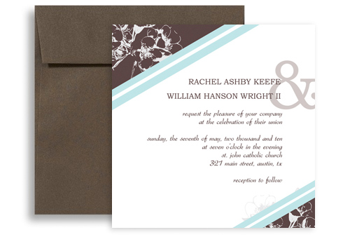 Engagement Party Microsoft Word Wedding Invitation 5x5 in Square - party invitation templates word
