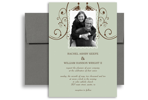 Wedding Anniversary Microsoft Word Invitation 5x7 in Vertical WI