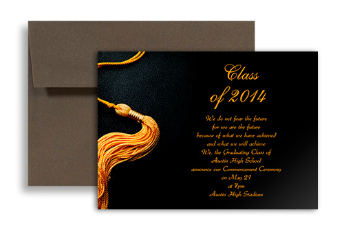 College Graduation Announcements Templates - graduation invitation template