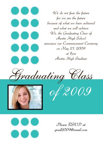 Sample Graduation Invitations College