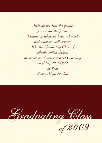 Free Graduation Invitations Templates For Mac - graduation invitations free