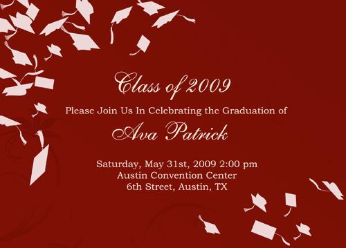 Graduation FREE wedding invitation graduation announcement diy - get together invitation template
