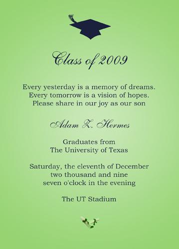 college graduation announcement template - Doritmercatodos
