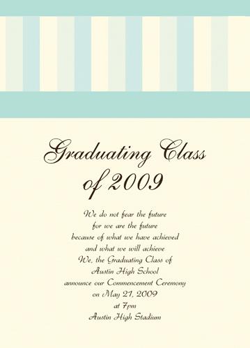 Free Graduation Announcement Templates Downloads