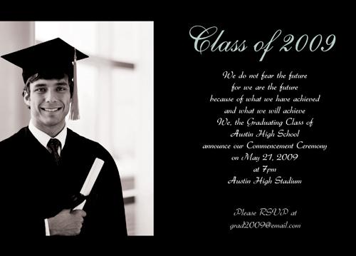 Free Printable Graduation Invitations Cards - free printable invitations graduation