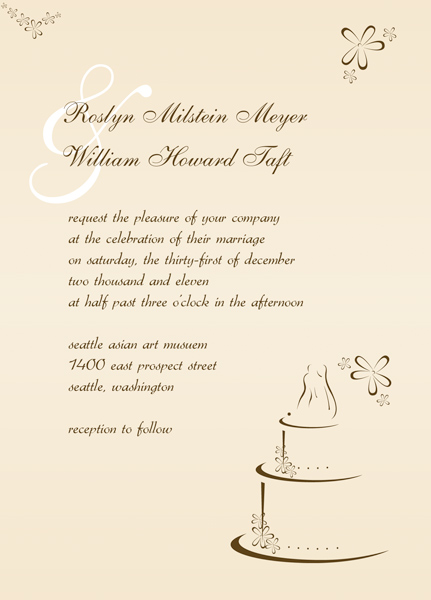 Wedding Reception Invitation \u2013 Make Modern Invitations