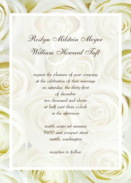 Free Wedding Invitation Cards Templates - free wedding invitation card templates