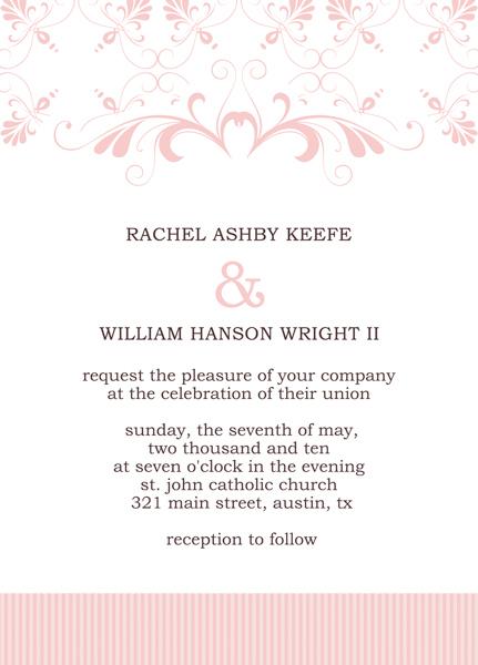 Microsoft Publisher Wedding Invitation Templates \u2013 Start Making