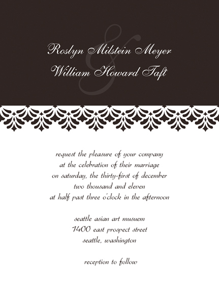 Wedding Reception Invitation Templates \u2013 Come up with Your Special