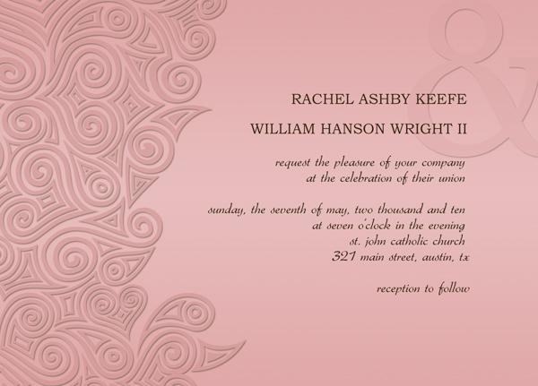 Free Wedding Invitation Card Templates - free wedding invitation card templates