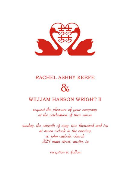 Wedding Invitation Response Card Templates