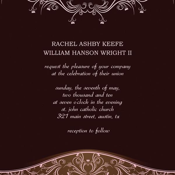 Microsoft Publisher Wedding Invitation Templates u2013 Start Making - invitations templates