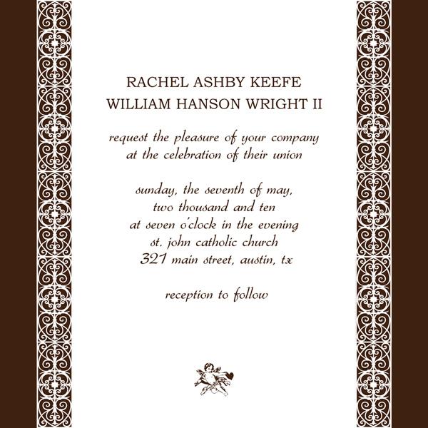Invitation Card - free corporate invitation templates