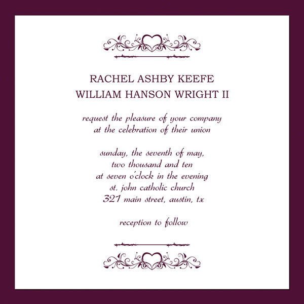 Invitation Templates Wedding u2013 Make Your Special Cards - funeral announcement sample