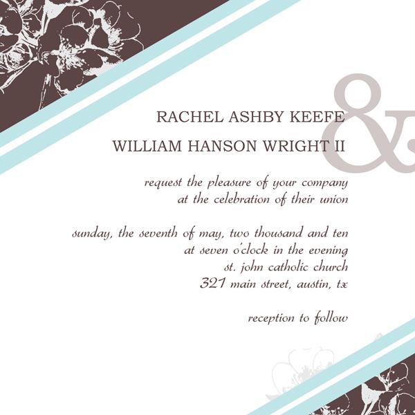 Wedding Invitation Design Templates \u2013 Design Your Own Invitations