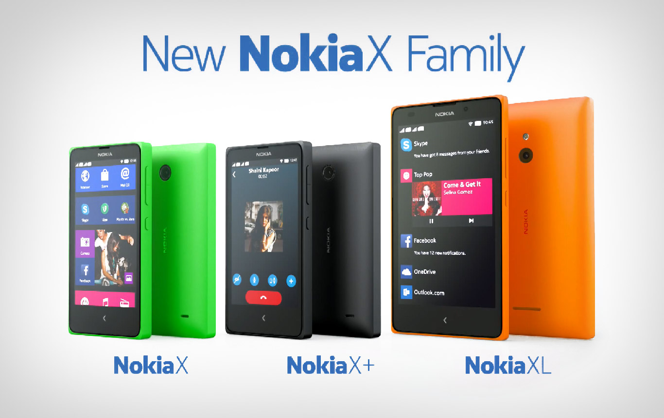 X Xl New Nokia X Family Is Revealed First Android Based Nokia