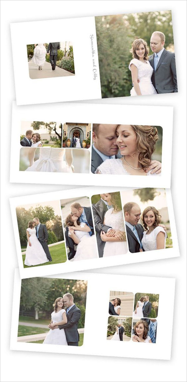 Invitation Card For Wedding Layout 25 Beautiful Wedding Album Layout Designs For Inspiration